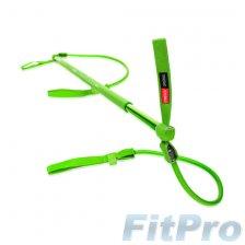 Гимнастическая палка с амортизатором GYMSTICK ORIGINAL 2.0, слабое сопротивление в магазине FitPro