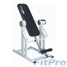 Инверсионный стол профессиональный с мотором, Power VI Inversion Table with GL - Silver 220V в магазине FitPro