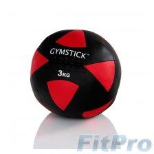 Мяч набивной GYMSTIСK Wall Ball, 3 кг в магазине FitPro